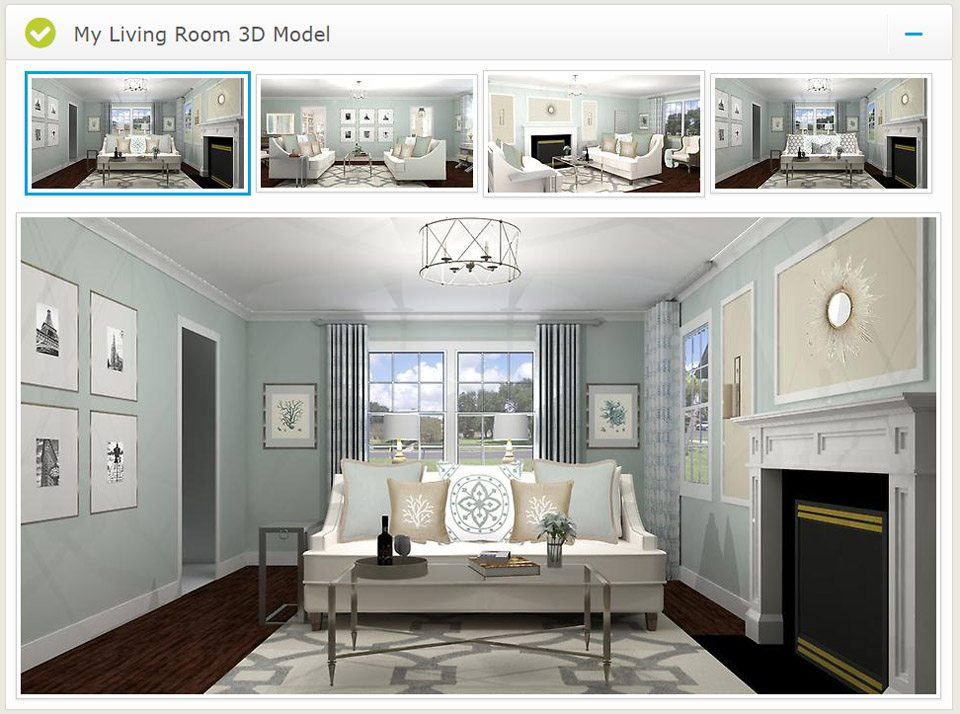 Virtual interior design from a space to call home for Interactive interior design