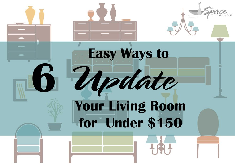 ways to update your living room for
