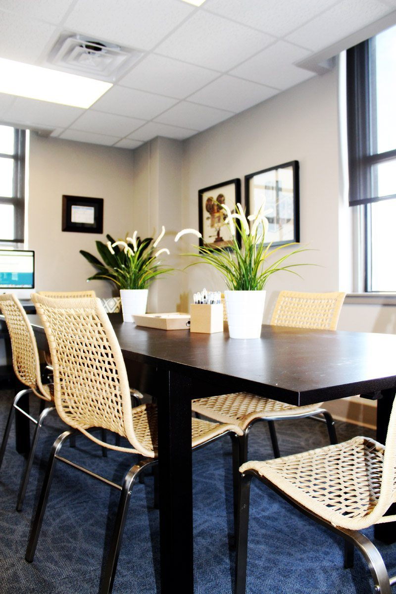 Commercial Interior Design Conference Room