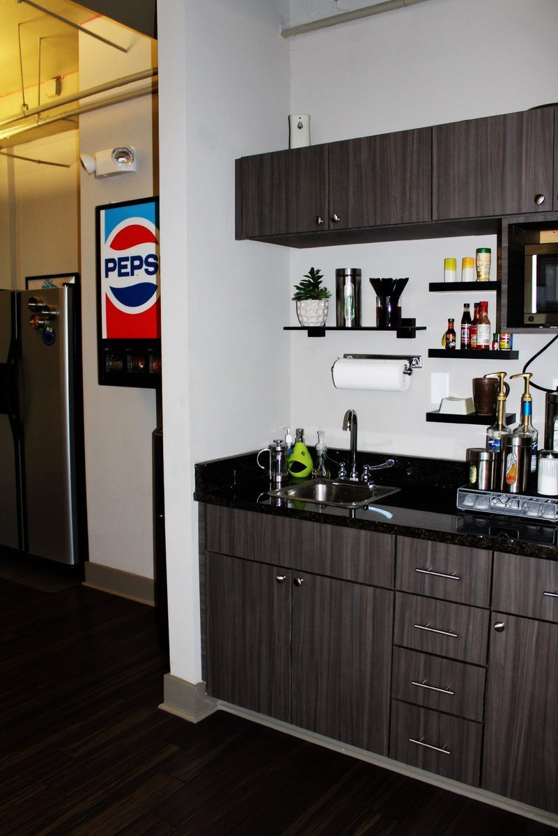 Commerical Office Design Break Area