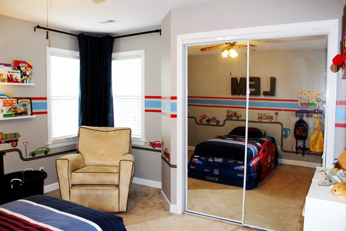 Car & Truck Theme Toddler Room Ideas - A Space to Call Home