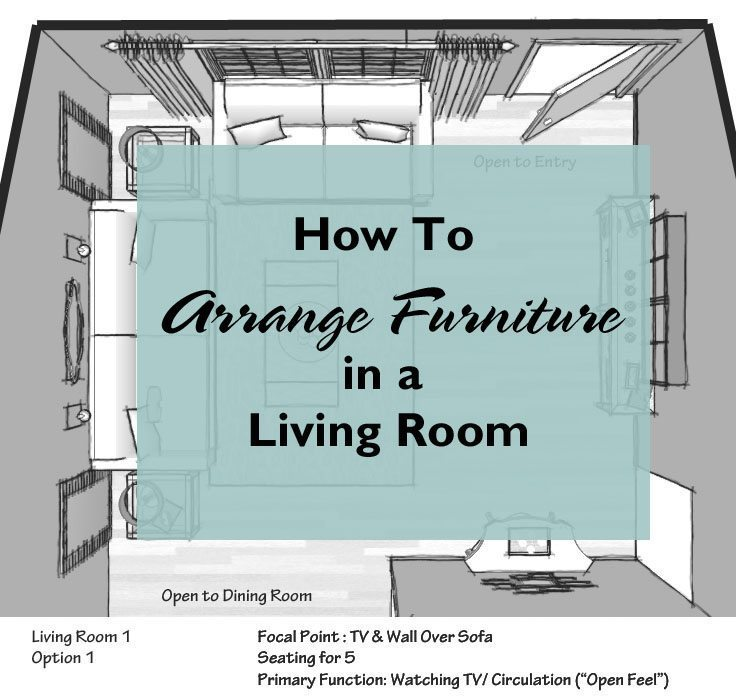 How to arrange furniture in a living room a space to call home How to arrange a living room with 3 couches