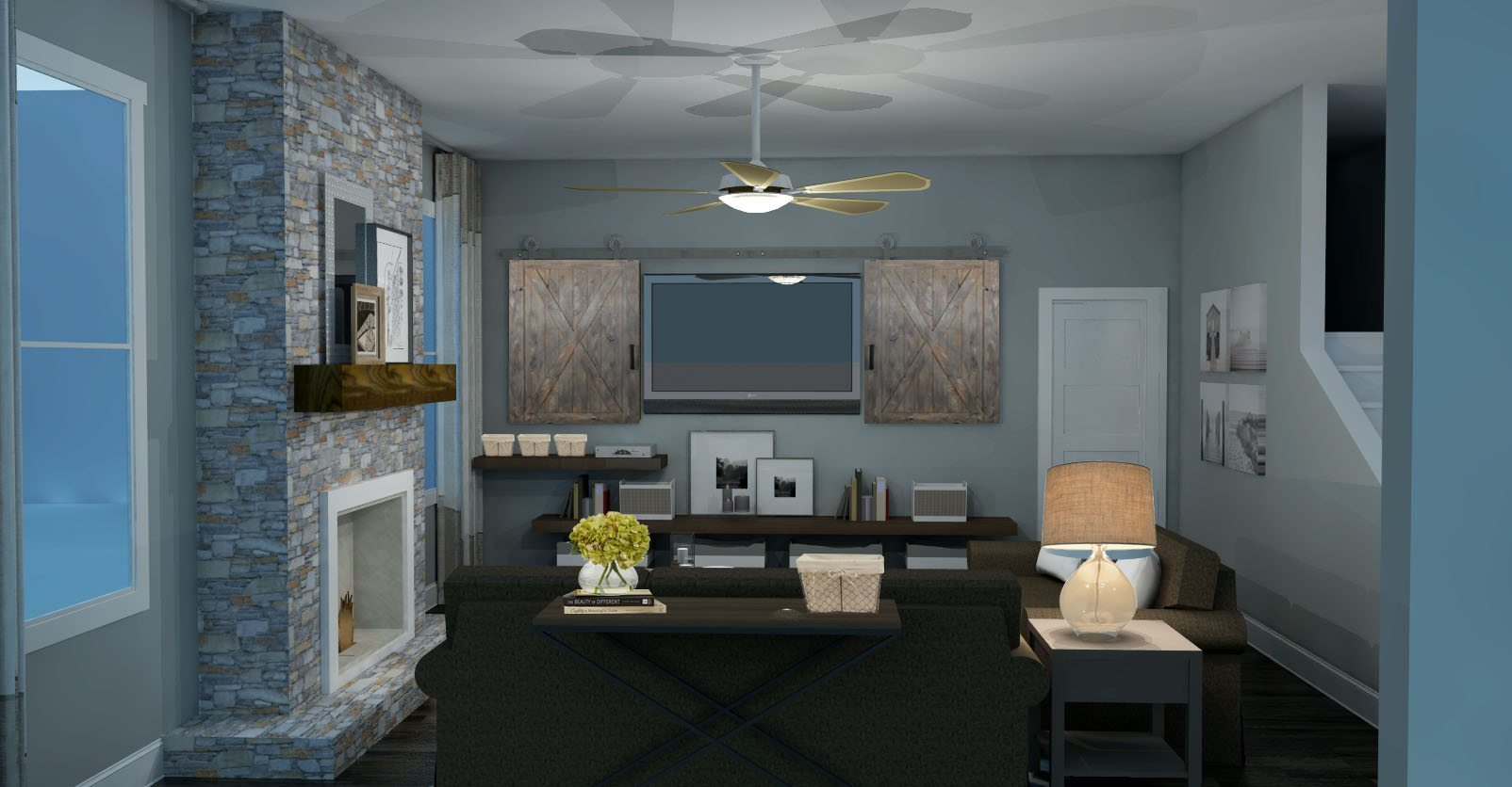 rustic modern living room design modern rustic living room design 20031